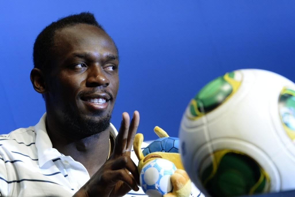 Usain Bolt falou sobre seleção brasileira em visita à Fifa