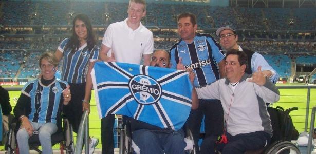 TAAG quer levar ainda mais portadores de necessidades especiais para os jogos do Grêmio na Arena