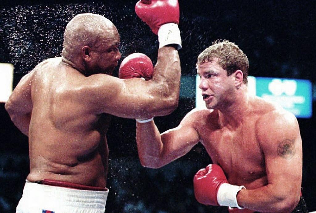 Tommy Morrison derrotou George Foreman em 1993 e venceu o título mundial de boxe