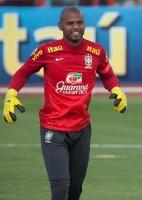 Seleção brasileira: Na ausência de J. Cesar, Jefferson espera titularidade