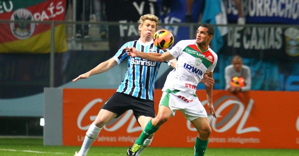 07.set.2013 -Grêmio e Portuguesa fazem duelo equilibrado no Sul