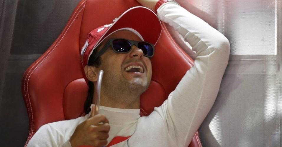 Felipe Massa vive indefinição na Ferrari. Outros nomes continuam sendo especulados para o seu posto na escuderia italiana
