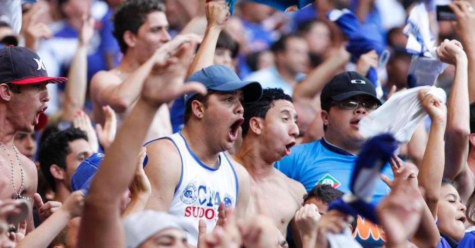 08.set.2013 - Cruzeiro venceu o Flamengo por 1 a 0 no Mineirão em partida válida pela 19ª rodada do Campeonato Brasileiro