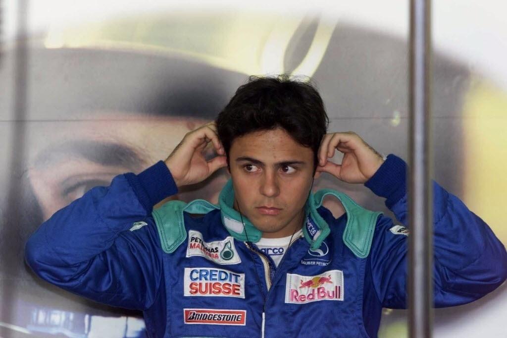 Felipe Massa, em 2002, pela Sauber