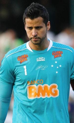 O goleiro Fábio do Cruzeiro