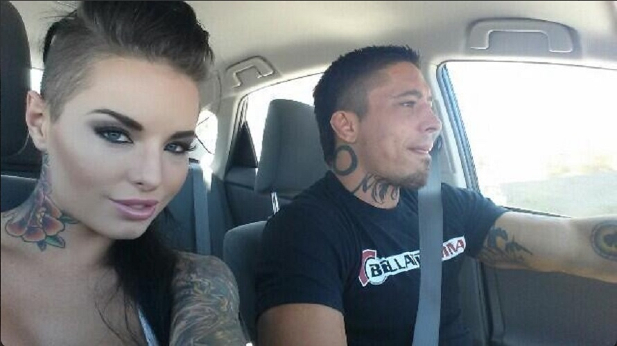 O lutador do Bellator War Machine é famoso também por conta de seu par fora do ringue: a atriz pornô Christy Mack