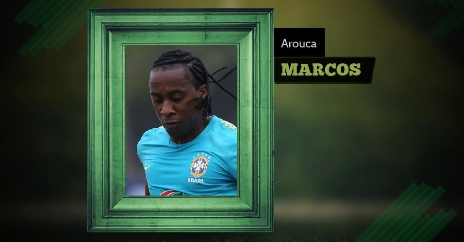 Marcos atende por Arouca