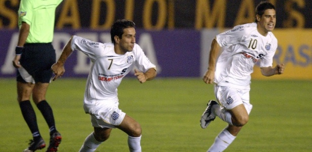 Nelson Cuevas atuou pelo Santos no Campeonato Brasileiro de 2008