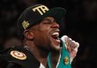 Mayweather vai pendurar as luvas. Relembre seus maiores momentos no boxe - REUTERS/Steve Marcus
