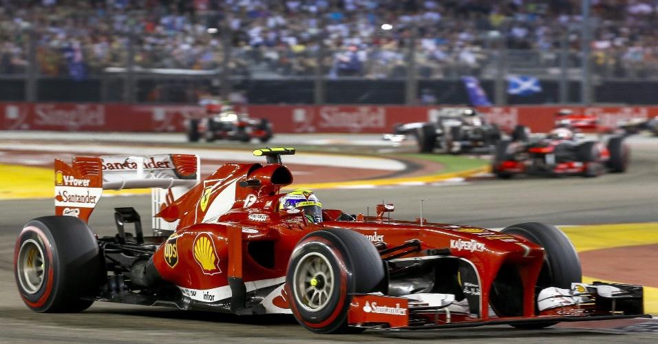 22.09.2013 - Felipe Massa ficou em sexto no GP de Cingapura