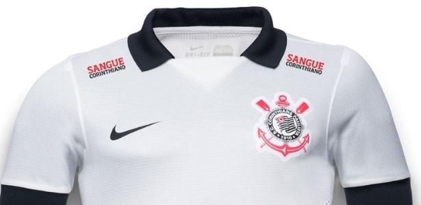 Imagem da camisa do Corinthians com o logotipo da campanha, que será usado daqui em diante