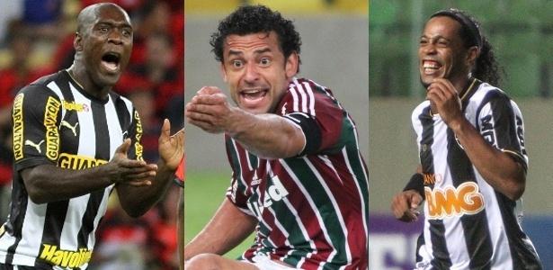 Seedorf, Fred e Ronaldinho Gaúcho estão na mira dos atletas descontentes, que querem crescer