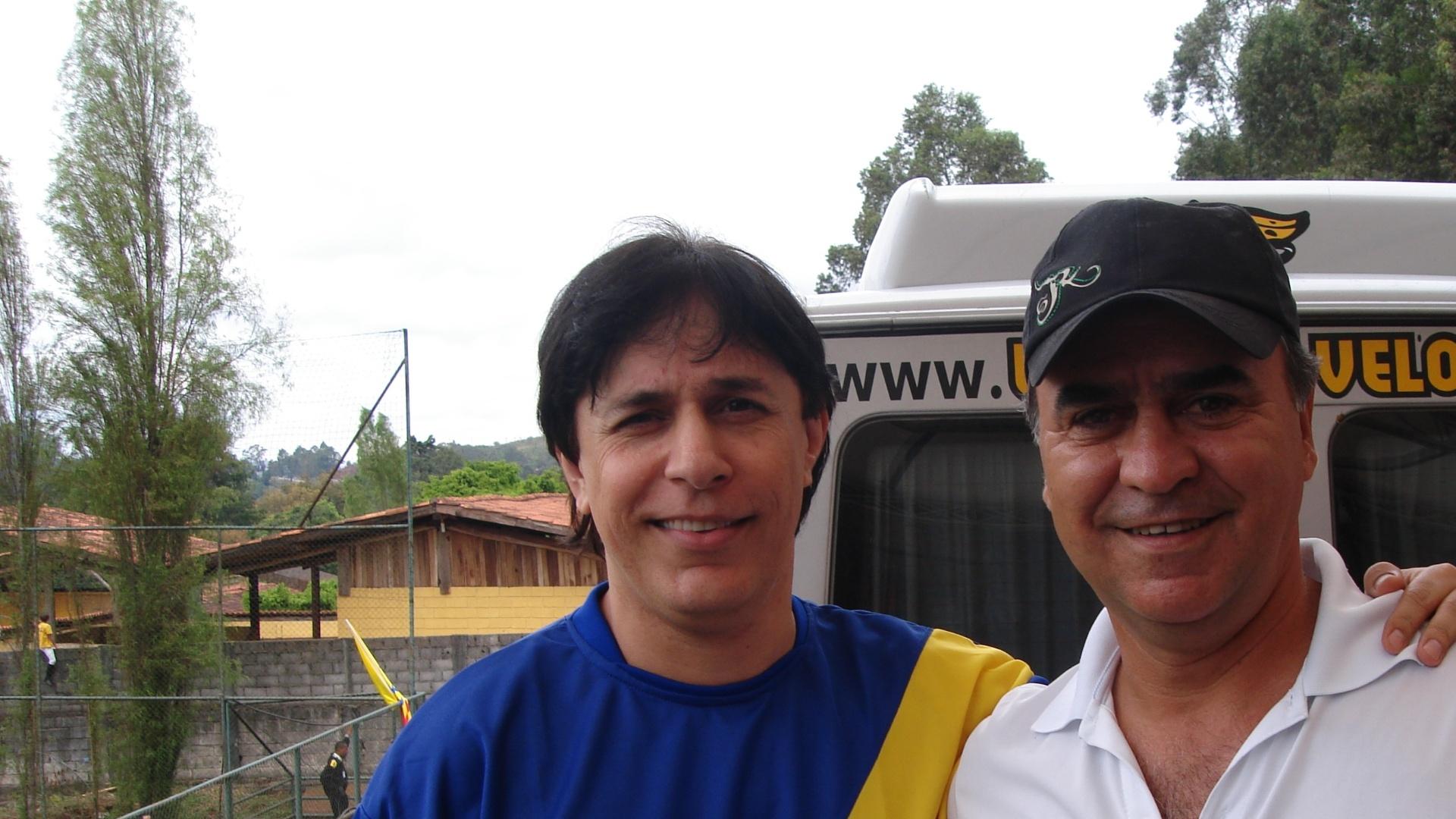 Tom Cavalcante e Marcelo Oliveira em encontro em Belo Horizonte