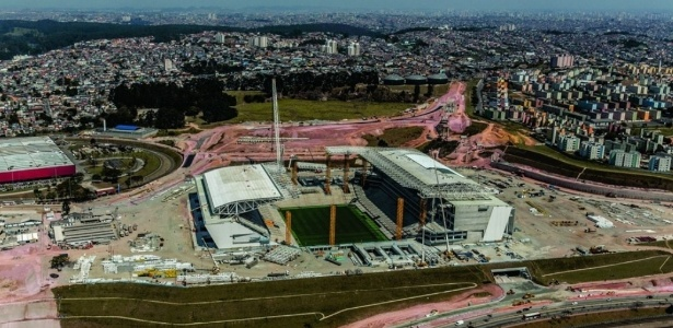 Estádio do Corinthians chegou a 90% de serviços concluídos. Término deve ocorrer em dezembro