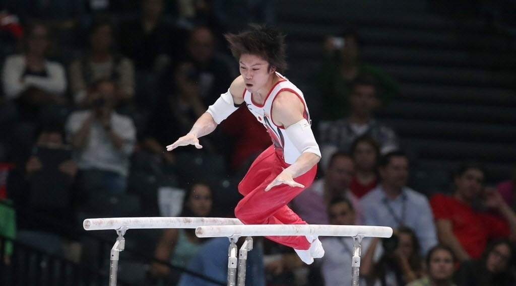 03.10.2013 - Kohei Uchimura conquistou o tetracampeonato mundial no Individual Geral do Mundial de Ginástica