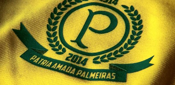 Parte do uniforme comemorativo do Palmeiras para o centenário que foi revelada nesta segunda-feira