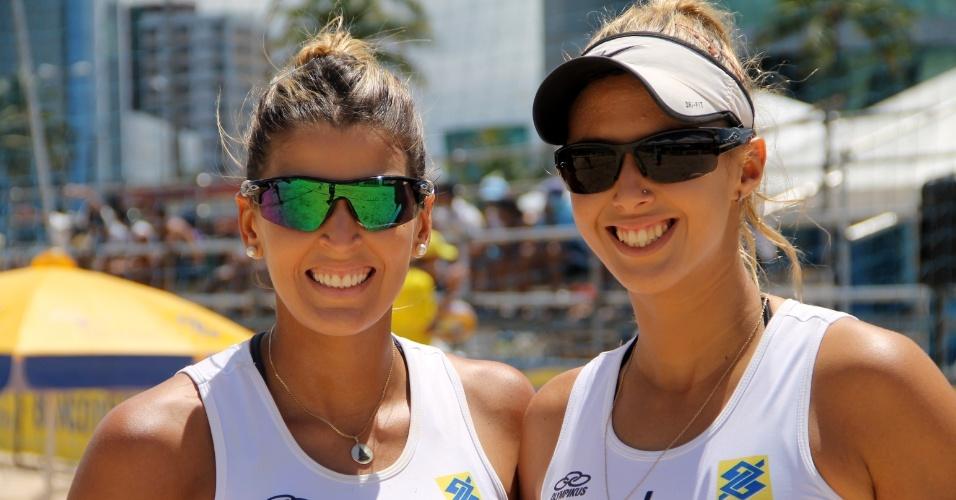 Mari Paraíba e Natasha Valente começaram a parceria recentemente e já disputaram algumas etapas do Circuito Nacional