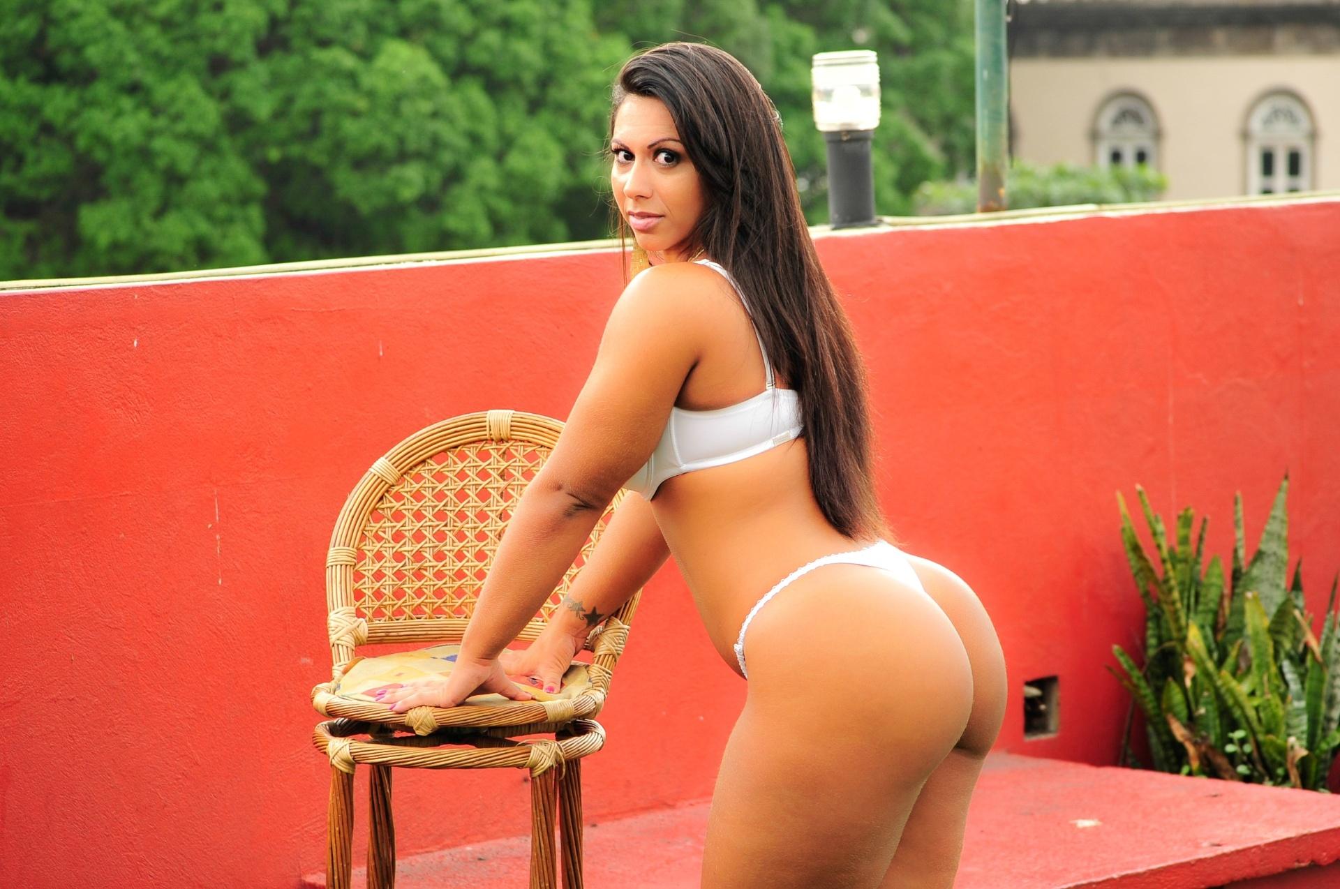 Barbara Carvalho, a bela da Vasco