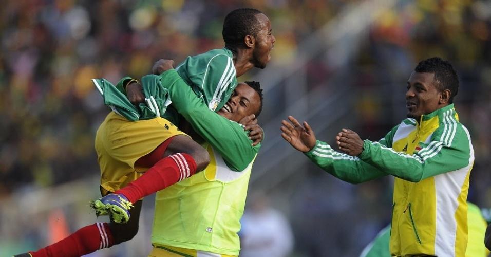 Etiópia saiu na frente no marcador, mas permitiu a virada da Nigéria