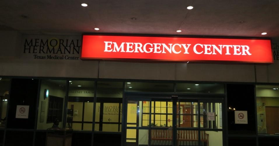 Hospital em Houston onde Cigano foi atendido após sua luta no UFC 166