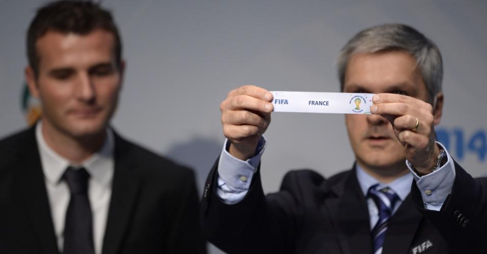 21.10.2013 - A França terá que decidir contra a Ucrânia a vaga na Copa do Mundo de 2014