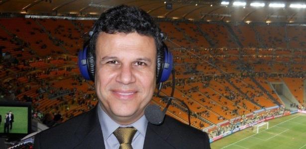 O narrador esportivo Téo José, da Band, que não transmitirá o Brasileirão 2016