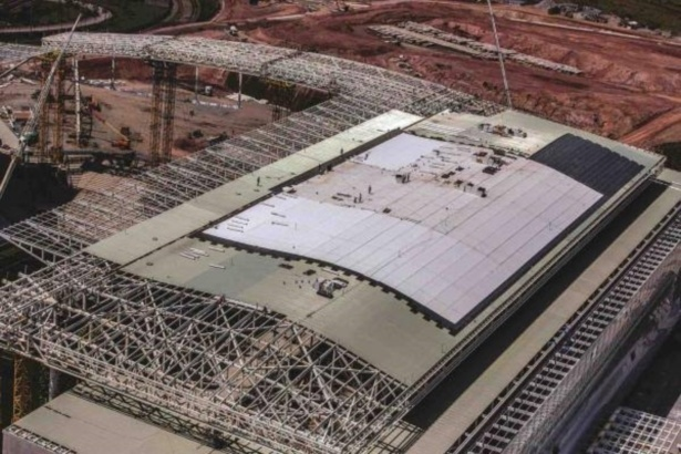 Itaquerão está em fase final de acabamentos na cobertura, colocação de assentos e obras no setor oeste
