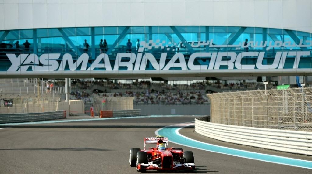 Felipe Massa não teve boa participação nos treinos livres em Abu Dhabi, girando sempre abaixo dos nove melhores. Pneus macios não surtiram efeito esperado nas atividades à tarde. No entanto, a prova de domingo será ao entardecer, com temperatura mais amena, podendo diminuir o desgaste dos compostos