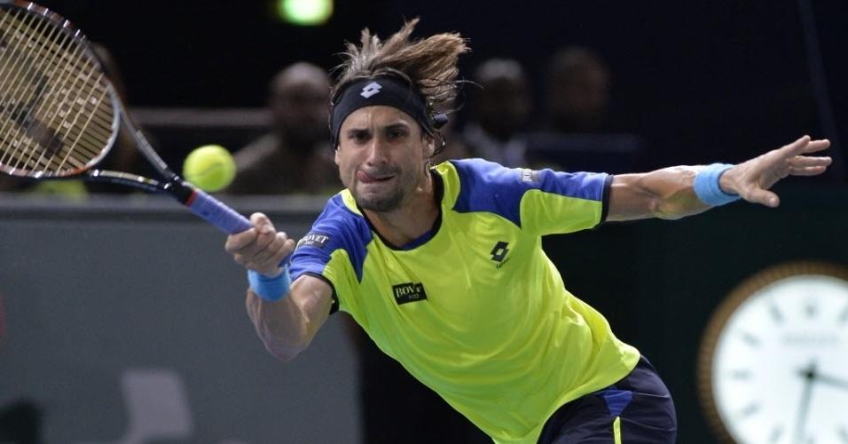 David Ferrer, que bateu Nadal na semifinal, encara Djokovic na decisão em Paris e fica com o vice-campeonato