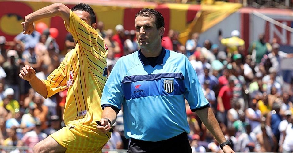 Guilherme Cereta de Lima apitou a final da Série B da Copa Kaiser