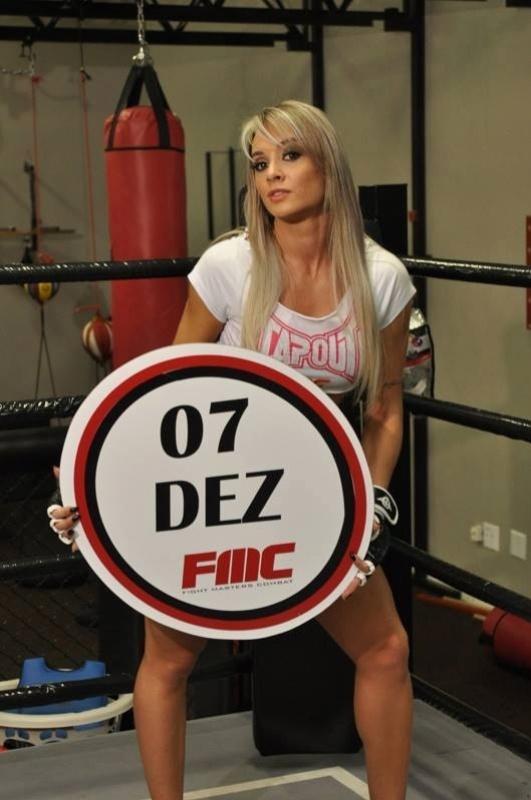 Juju Salimeni será a ring girl do evento de MMA FMC, que acontece em dezembro, em São Paulo