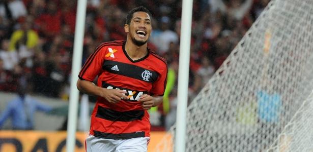 No tempo em que ficou no Flamengo, Hernane marcou 45 gols em 86 jogos