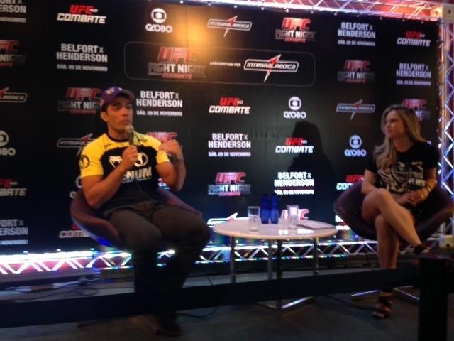Lyoto fala sobre TUF com Chael Sonnen