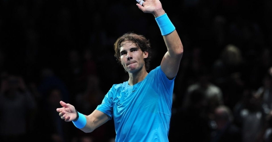 Nadal venceu Federer por 2 sets a 0 (7-5 e 6-3) e disputa a decisão das Finais da ATP