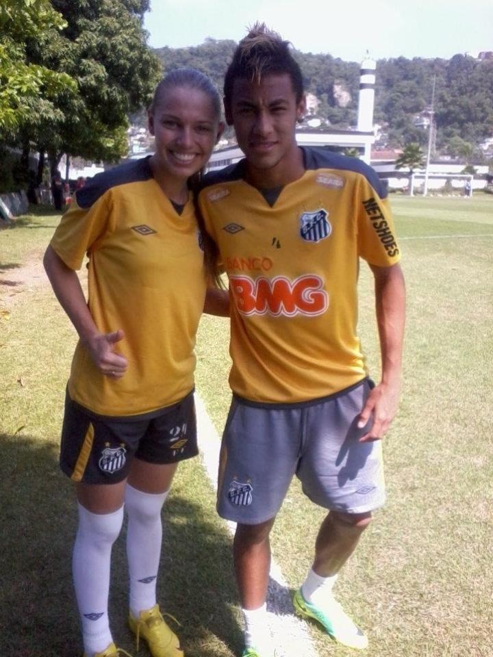 Dani Pato foi ex-jogadora do Santos