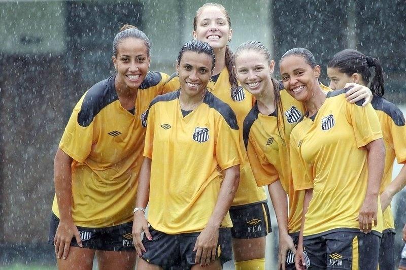 Dani Pato foi jogadora do Santos