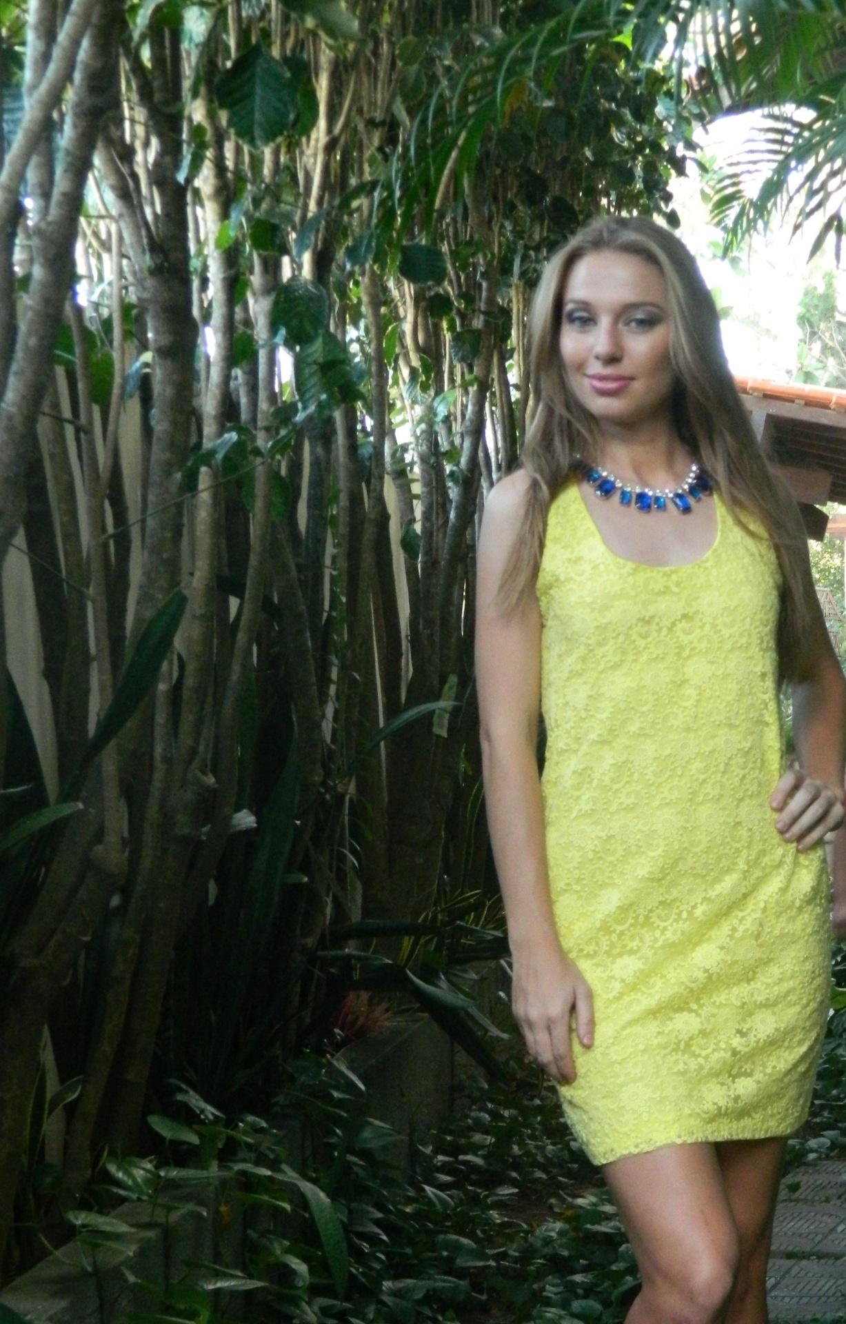 Dani Pato já trabalhou como modelo fotográfica