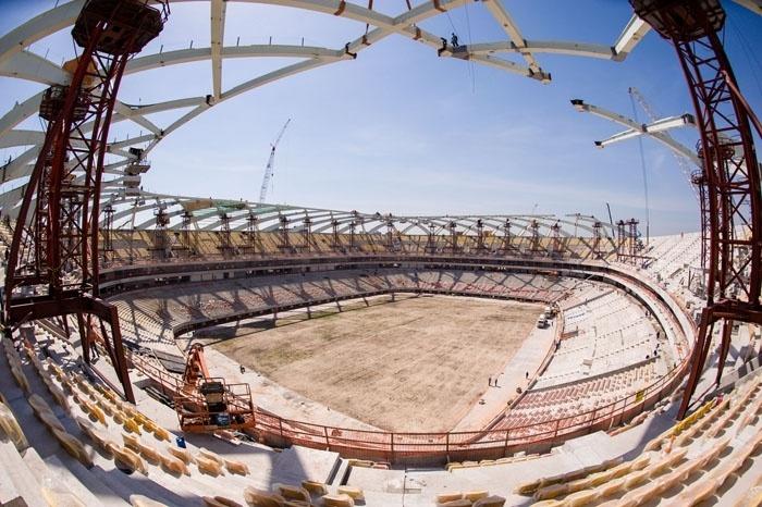 No fim de outubro, organização afirmou que 88% das obras da Arena da Amazônia estavam concluídas