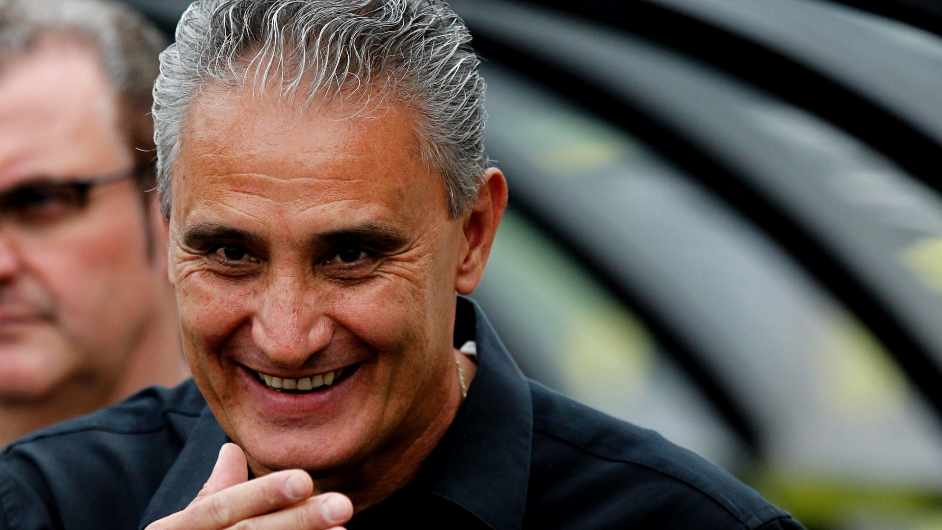 17.nov.2013 - Treinador Tite, em primeiro jogo após Corinthians anunciar que buscará outro treinador em 2014