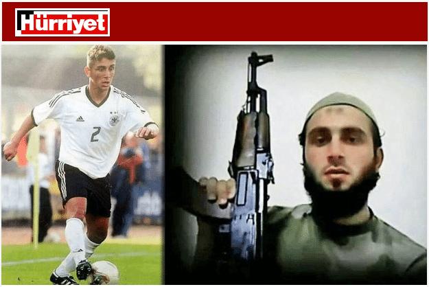 O ex-jogador Burak Karan morreu durante a guerra na Síria