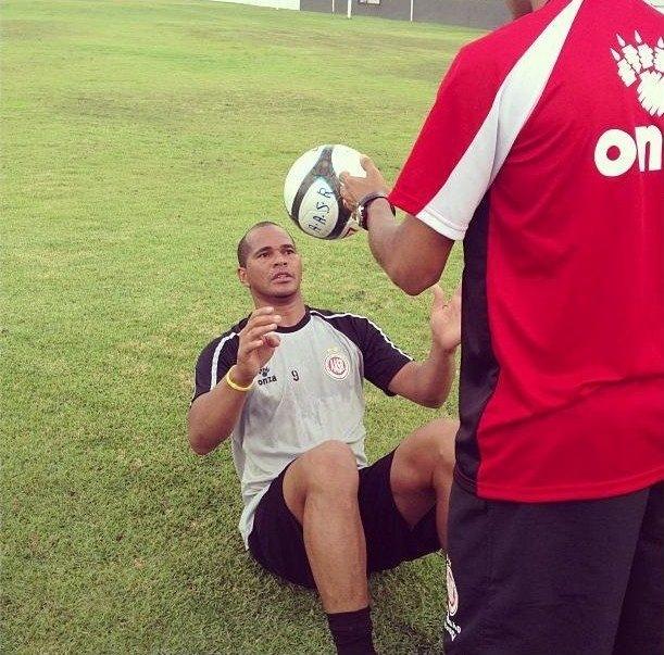Aloísio foi campeão da segunda divisão do Campeonato Alagoano pelo Santa Rita
