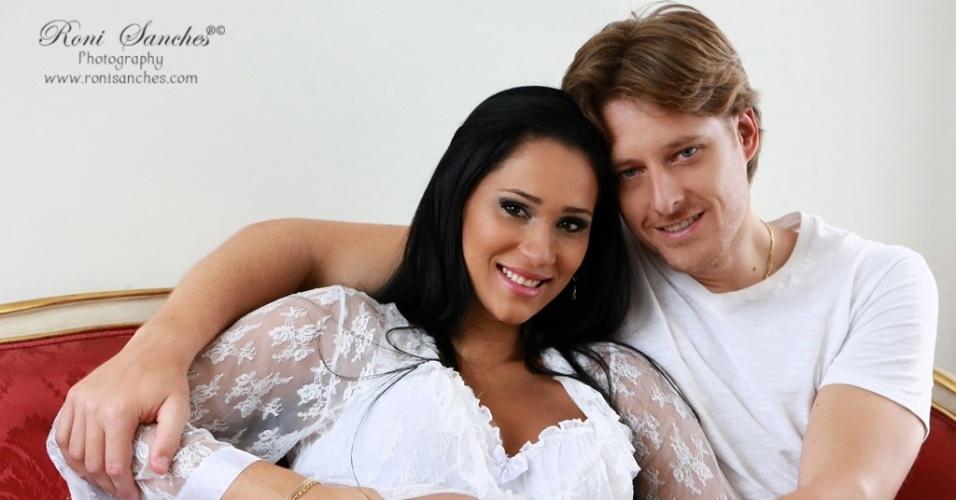 O casal Jaqueline e Murilo serão pais de Arthur