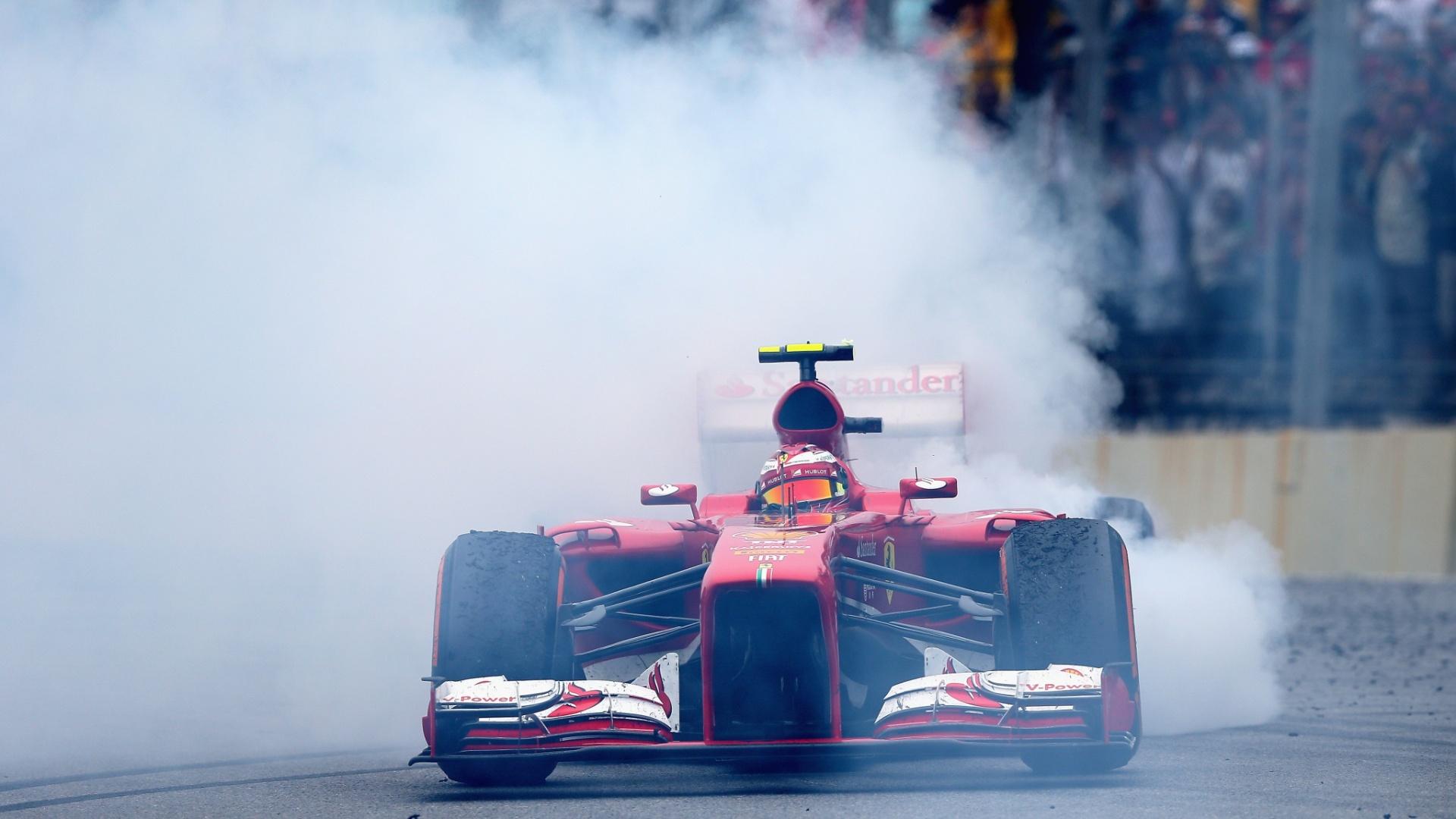 24.11.2013 - Felipe Massa faz