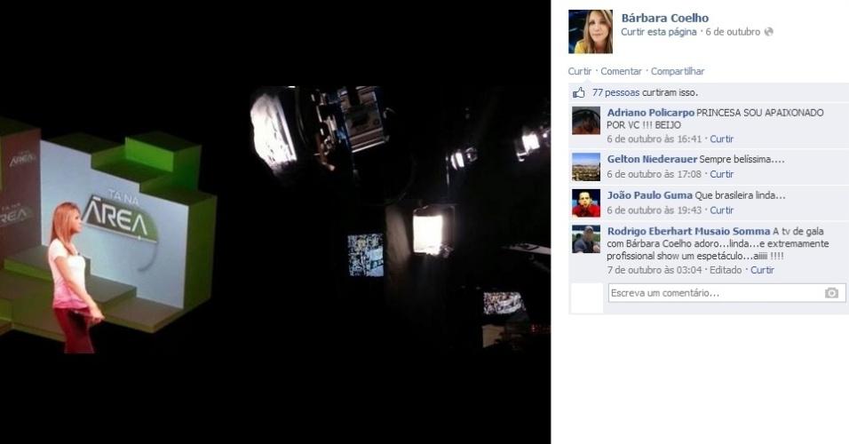 """Bárbara Coelho, capixaba de 25 anos, é apresentadora do """"Tá Na Área"""", do SporTV. Ela, uma fã de Renata Fan, estreou um dia após o Atlético-MG conquistar a Libertadores, em julho"""