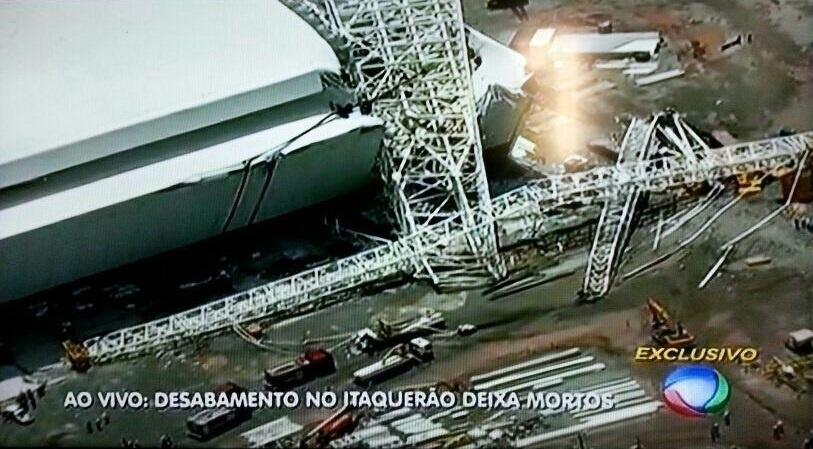 Acidente no Itaquerão deixou duas mortos nesta quarta-feira