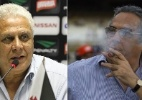Montagem com as fotos de Marcelo Sadio/ site oficial do Vasco e Antônio Gaudério/Folhapress