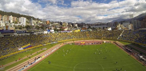 Estádio Olímpico Atahualpa receberá jogo do Botafogo pela fase prévia da Libertadores, no dia 29 de janeiro
