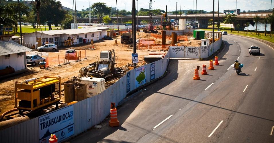 Transcarioca é a única obra de mobilidade urbana prometida pelo Rio para a Copa do Mundo