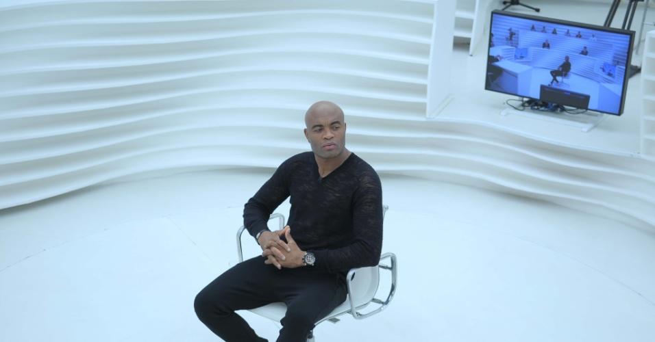 Anderson Silva no Roda Viva