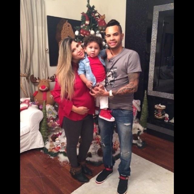 Dentinho e família celebram o Natal